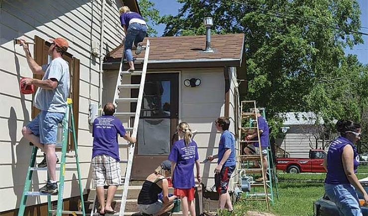 Paint South Dakota Neighbors Helping Neighbors
